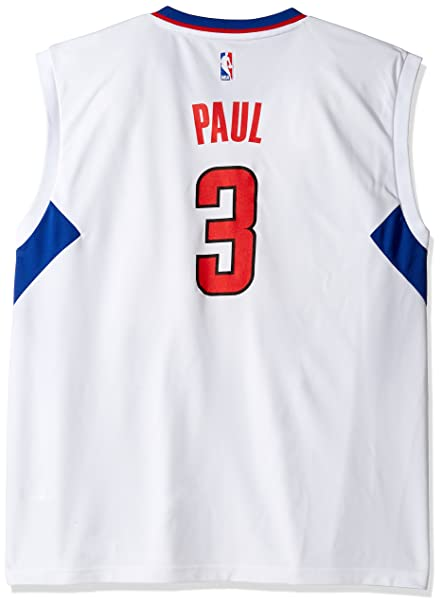 22d279997 NBA Los Angeles Clippers Chris Paul  3 Men s Home Replica Jersey