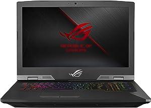 "ROG G703GX Desktop Replacement Gaming Laptop, GeForce RTX 2080, Intel Core i7-8750H Processor, 17.3"" Full HD 144Hz 3ms G-SYNC, 16GB DDR4, 512GB PCIe SSD + 1TB SSHD, RGB, Windows 10 Pro - G703GX-XS71 (Renewed)"