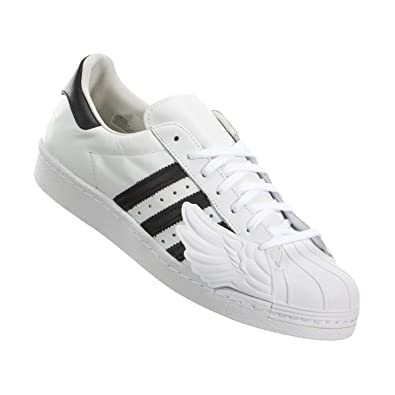 c9ae0e6ae69d Mens Adidas Jeremy Scott Superstar Wings White Black S77814 US 6.5 ...