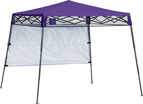 Quik Shade 6 x 7 Go Hybrid Pop-Up Compact Sun Protection Lightweight Slant Base Leg Backpack Canopy Freestanding shelter