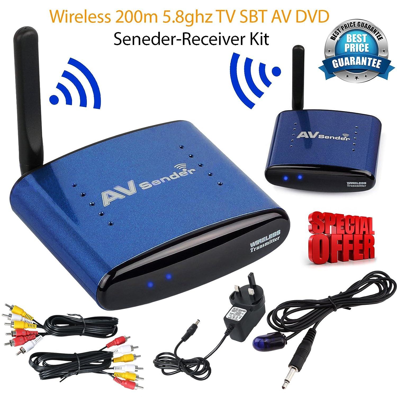 Wireless Tv Channel Wire Center Moonphasesdiagram1jpg 5 8ghz 8 Av Sd Audio Video Sender Amazon Co Uk Rh Verizon Channels Festival