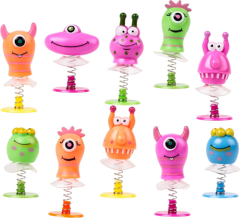 THE TWIDDLERS 36 Juguetes Monstruos Saltarines para Niños| Pequeño Juguete Divertido para Infantiles Pequeños Regalos Regalar Rellenos Bolsas Fiesta Cumpleaños Piñatas Calcetines Navidad Premios.