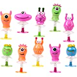 THE TWIDDLERS 36 Pack Monster Jump Up Toys | Mini Pop up Toys | Creature Monsters Toys Party Favors | Goodie Bag Fillers…