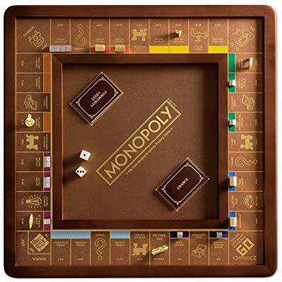 Winning Solutions Monopoly Luxury Edition Board Game: Toys & Games