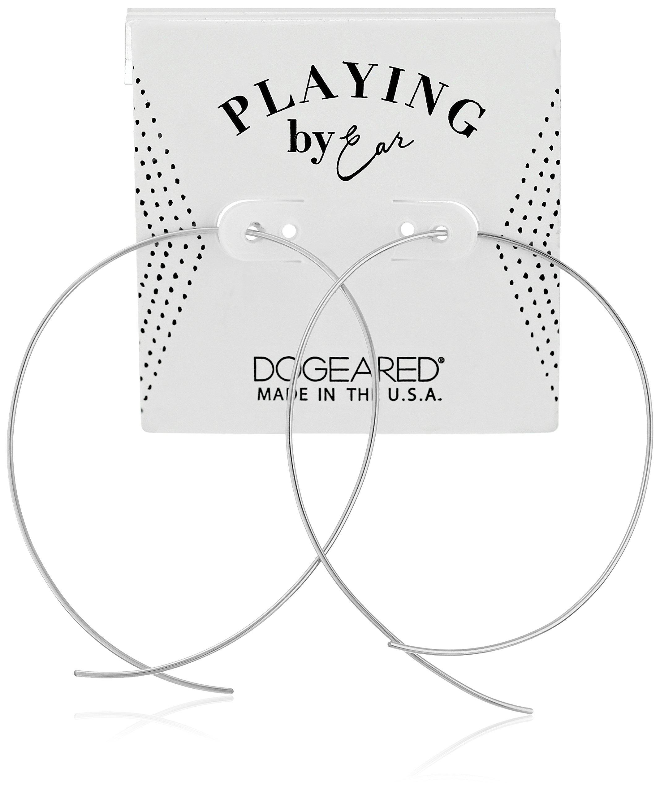 Dogeared Pe Loop Earwire Earrings Gf