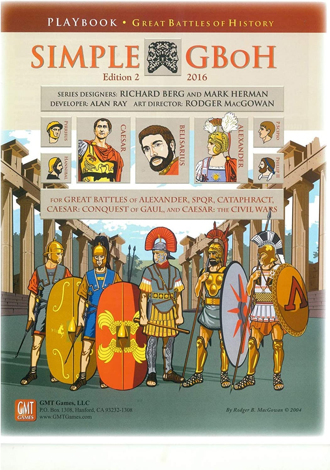 Cataphract New by GMT English 2nd Printing