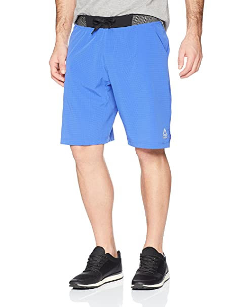 7f4dcdfe95f48 Amazon.com  Reebok Men  Epic Knit Waistband Short  Sports   Outdoors