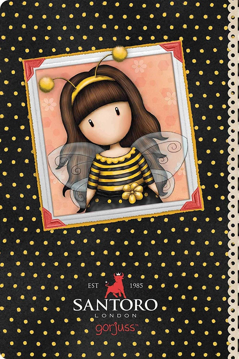 Santoro Gorjuss Bee Loved 2019 Journal de poche: Amazon.es: Oficina y papelería