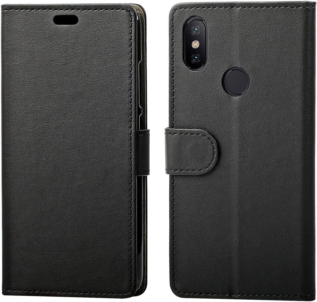 KZIOACSH Funda Xiaomi Mi A2/ Mi 6X,Premium Flip Cover Smart ...