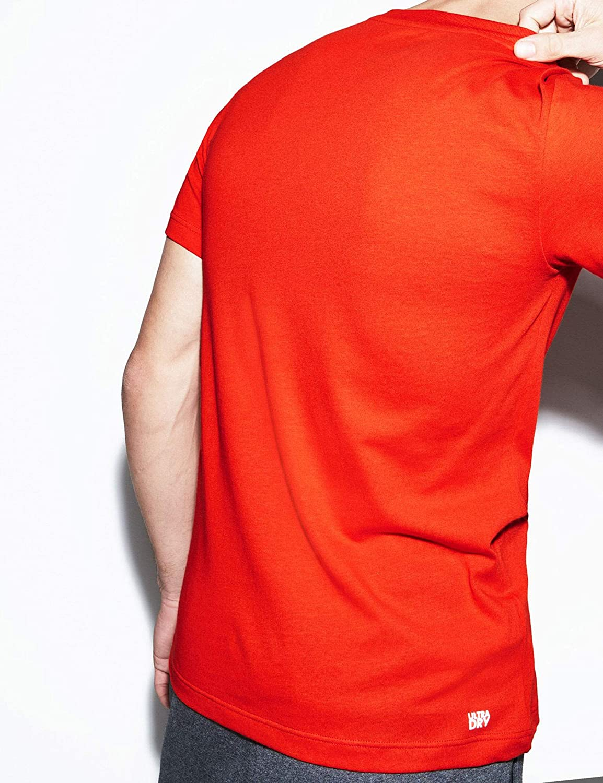 Lacoste Camiseta TH3491 Naranja Hombre 6 Naranja: Amazon.es: Ropa ...