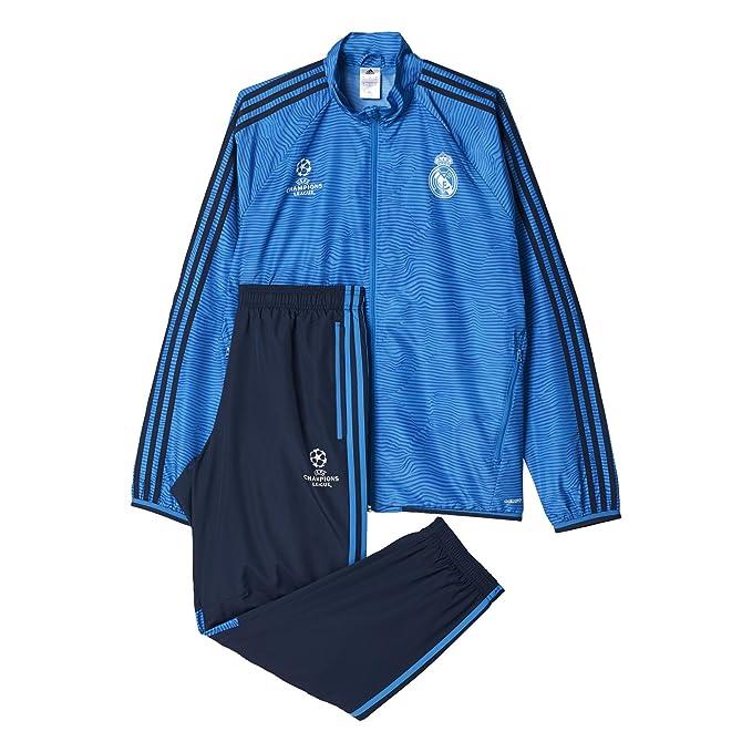 adidas Herren Real Madrid UCL SportPräsentationsanzug