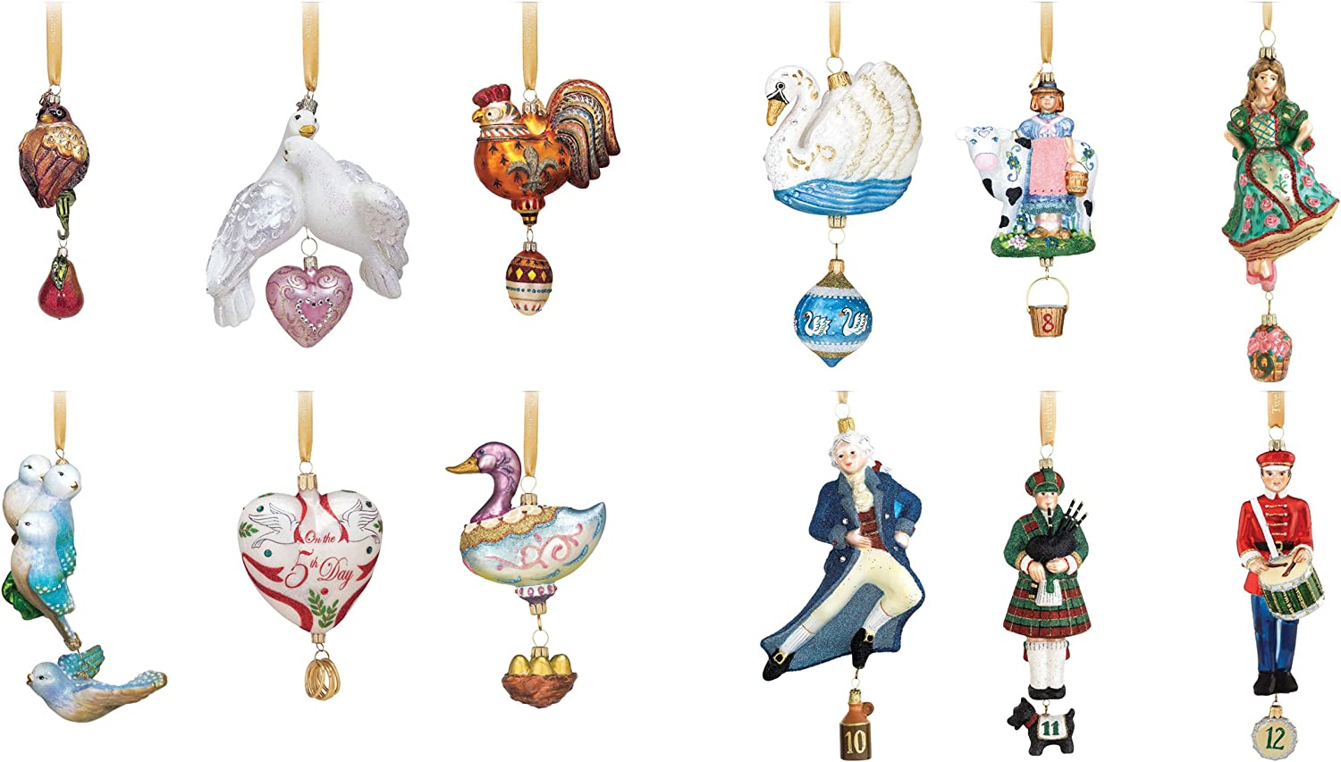 Reed /& Barton Nativity Collection Set of 6 Ornaments