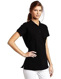 367f4696a7db16 Izod Women s Silk Wash Short Sleeve Pique Polo Shirt at Amazon ...