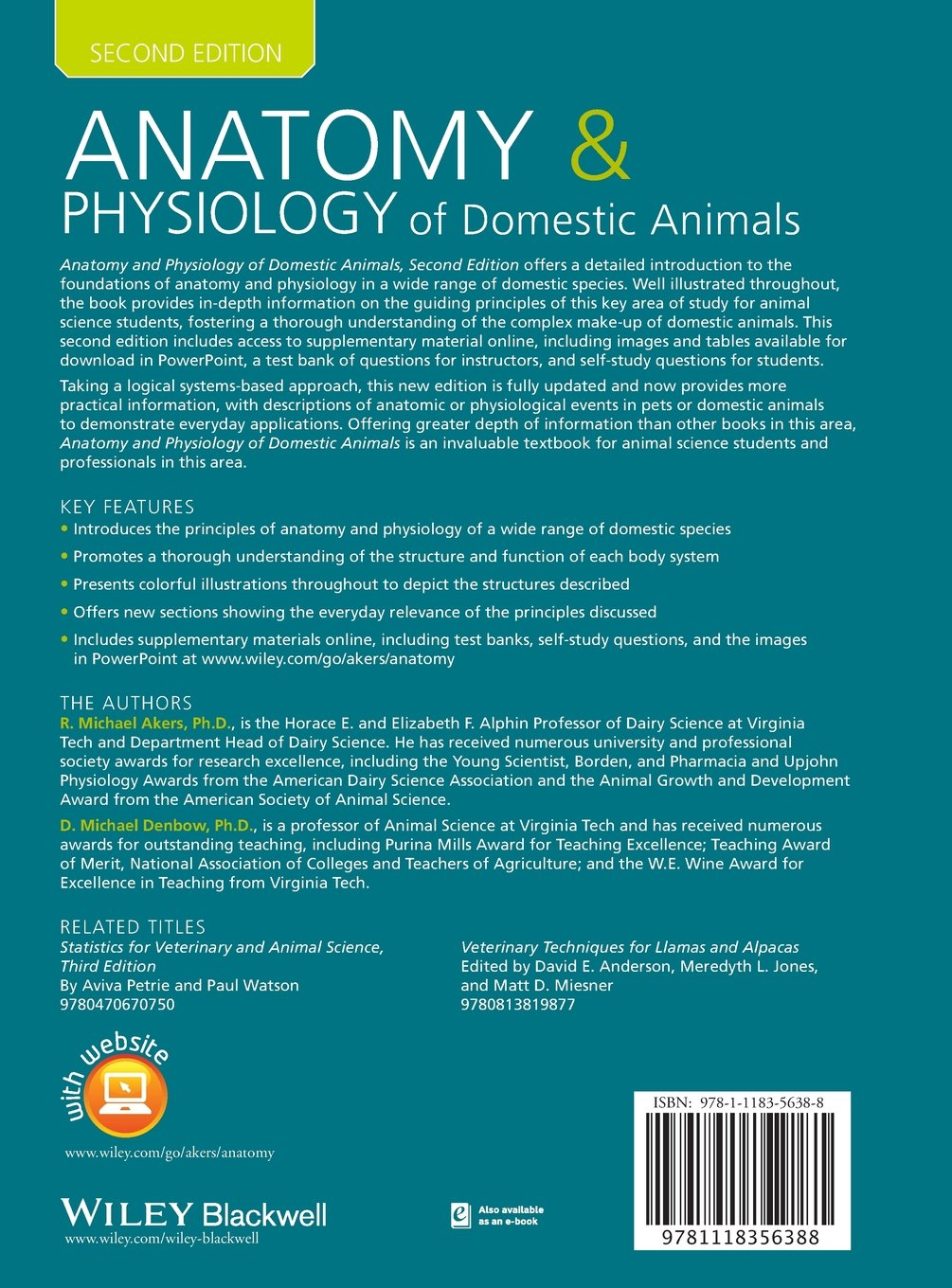 Buy Anatomy and Physiology of Domestic Animals Book Online at Low ...