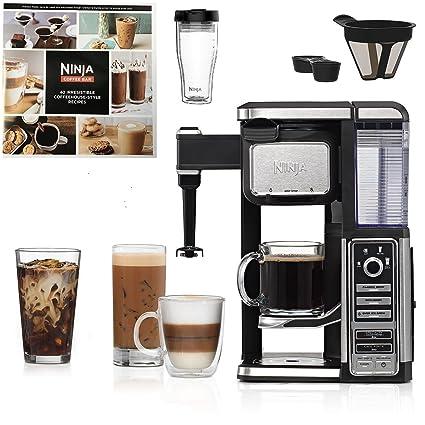 .com: ninja coffee bar single-serve system with xl ninja  ...