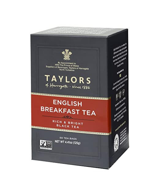 Taylors of Harrogate English Breakfast, 50 Teabags