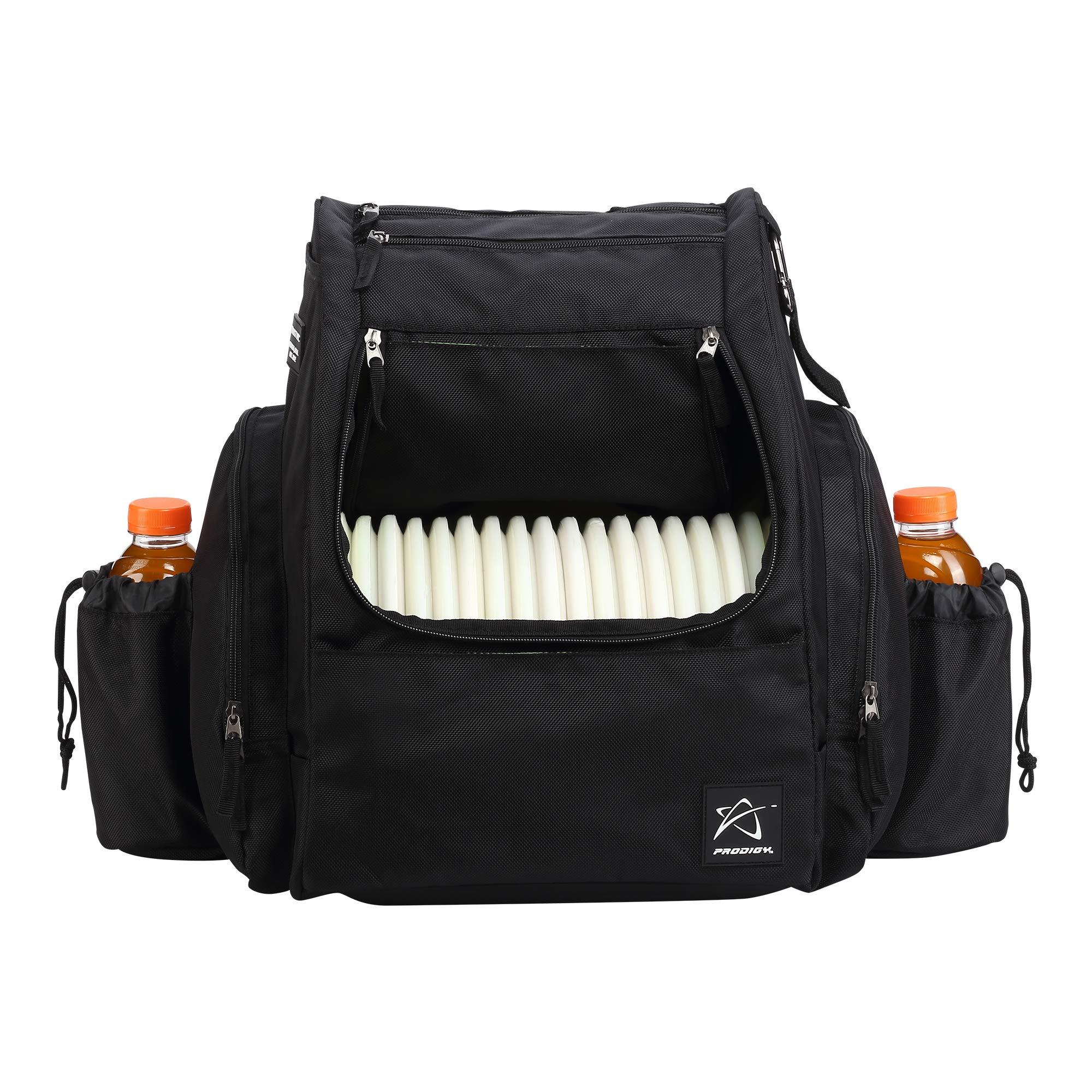 Prodigy Disc BP-2 Backpack - 2019 Model - Fits 25 Discs (Black/Volt, Rainfly)