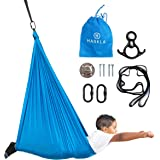 Harkla Indoor Swing for Kids - Indoor Sensory Swing Great for Autism, ADHD, and Sensory Processing Disorder - Therapy Swing h