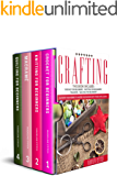 """CRAFTING: 4 Books In 1: """"Crochet For Beginners"""", """"Knitting For Beginners"""", """"Macramé"""", """"Quilting For Beginners…"""
