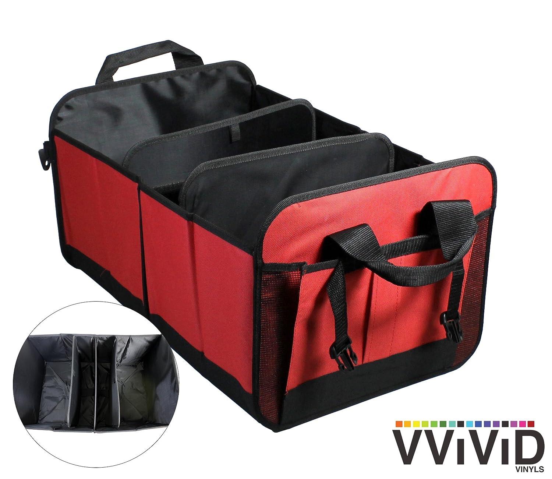 VViViD Heavy-Duty Trunk Organizer 12 x 12 x 24 Black