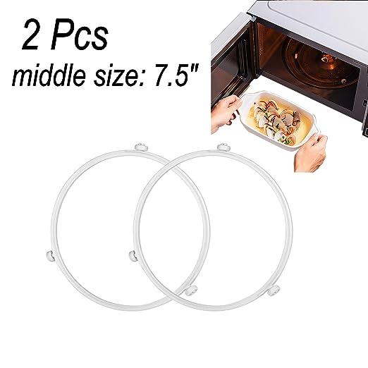 Proshopping - 2 anillos giratorios para microondas de 19 cm ...