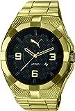 Puma Time Herren-Armbanduhr Iconic Analog Quarz Plastik