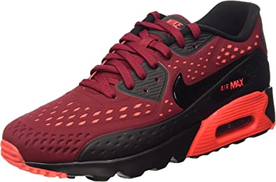 Nike Air Max 90 Ultra Breathe, Baskets Basses Homme, Rouge