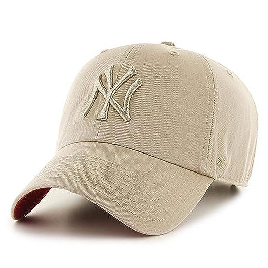17fad57c9e8 Amazon.com    47 Authentic NEW YORK YANKEES Khaki Clean UP - Khaki   Sports    Outdoors