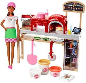 Barbie Pizza Chef Doll and Playset, Brunette