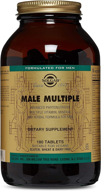 Solgar – Male Multiple, 180 Tablets
