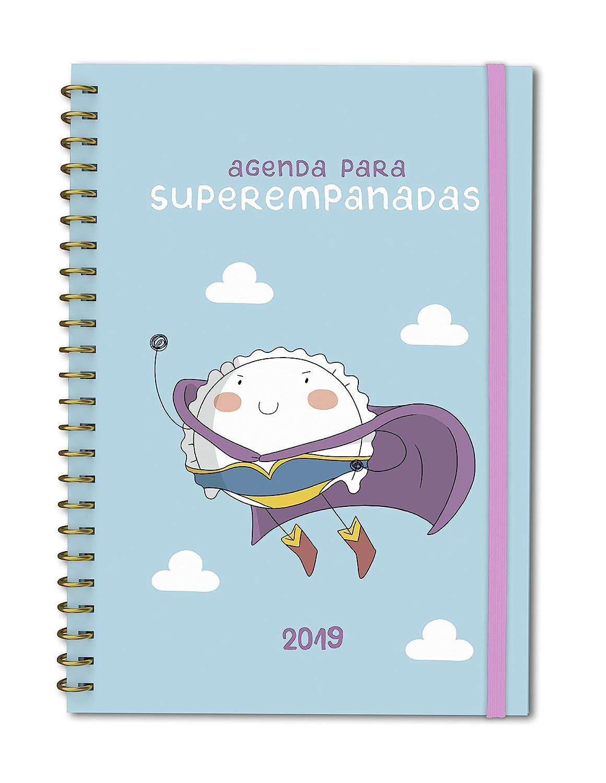 Agenda anual semana/vista Croqueta y Empanadilla 2019: Agenda para superempanadas: 32 (TANTANFAN)