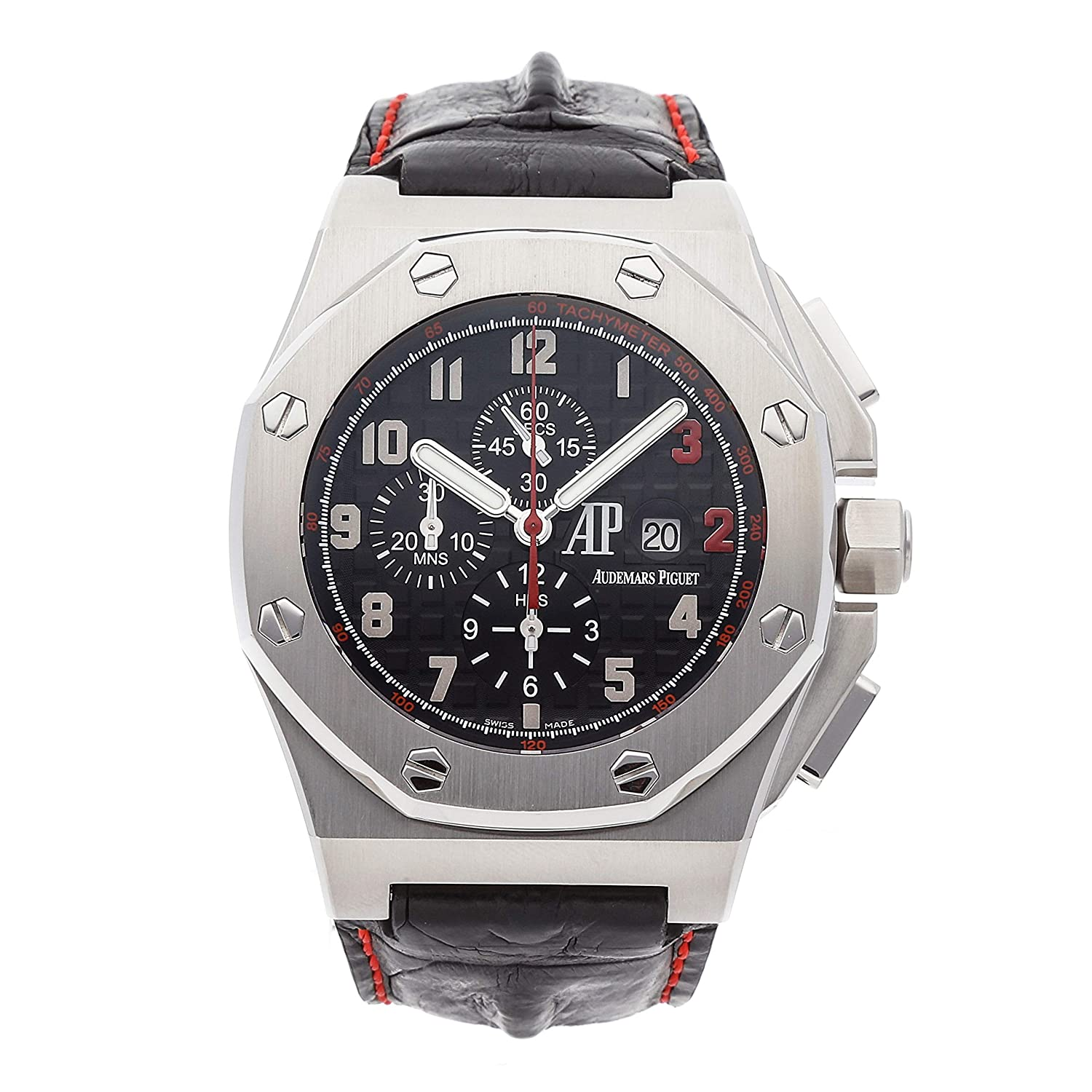 Audemars Piguet Royal Oak Offshore Mechanical (Automatic) Black Dial Mens Watch 26133ST.OO.A101CR.01 (Certified Pre-Owned)