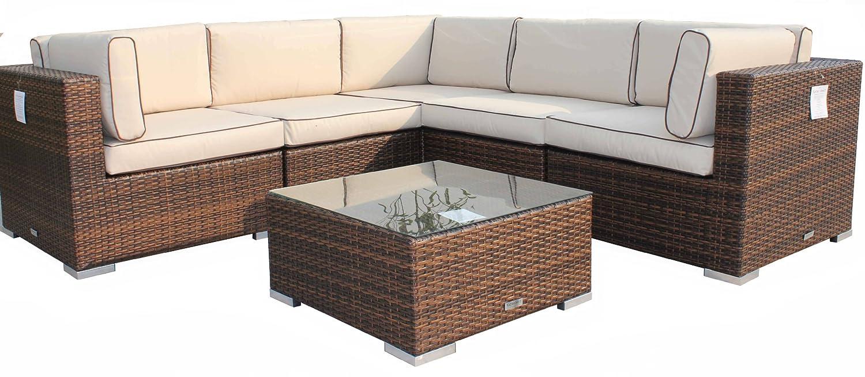 Florida outdoor rattan corner sofa set hereo sofa for Sofas de ratan para jardin
