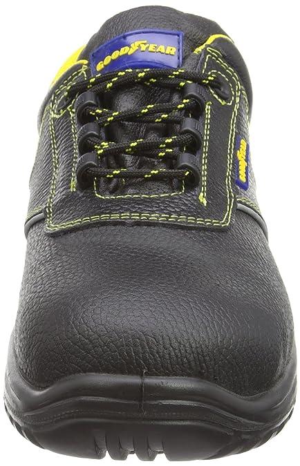 GoodyearGyshu2100 - Scarpe da Tennis di Sicurezza Uomo, Grigio (Grigio (Grey)), 45.5