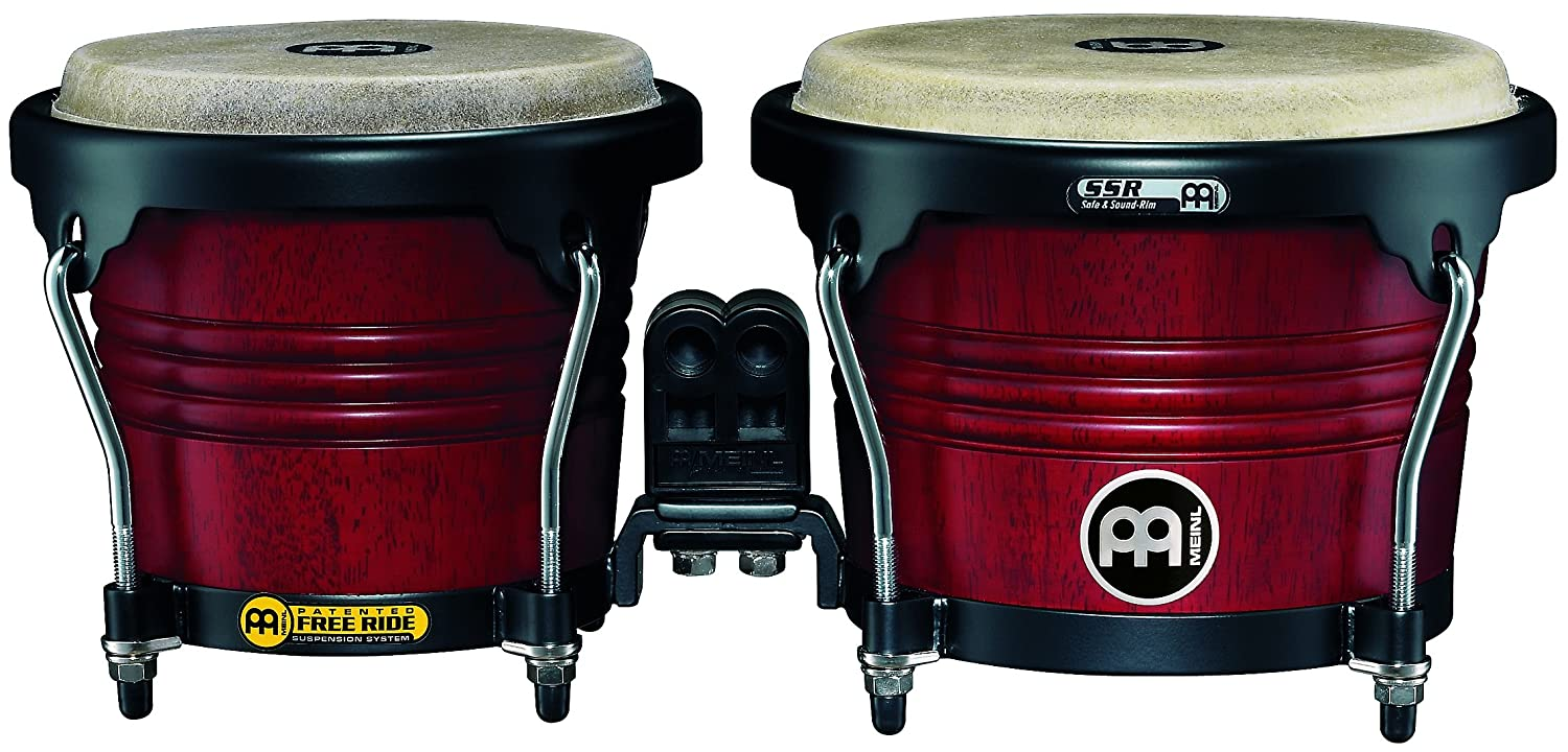 MEINL Percussion マイネル ボンゴ Marathon Series Wood Bongo FWB190CR-M 【国内正規品】 B00275G77Q Cherry Red Cherry Red