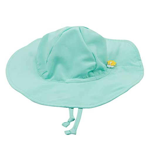 0670b9861 Leveret Baby Girls Brim Sun Protection Swim Hat (Size 3 Months-4 Toddler)