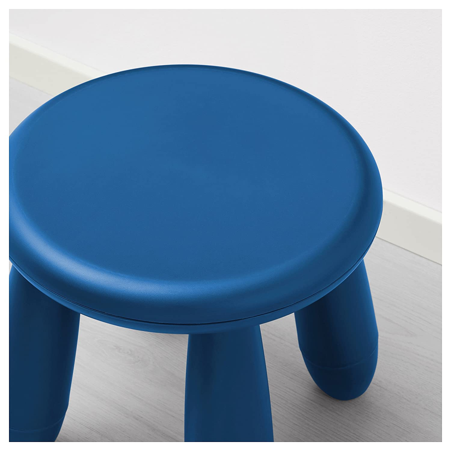 Amazon.com: IKEA Mammut Childrens Blue Stool (Blue, 1): Kitchen & Dining