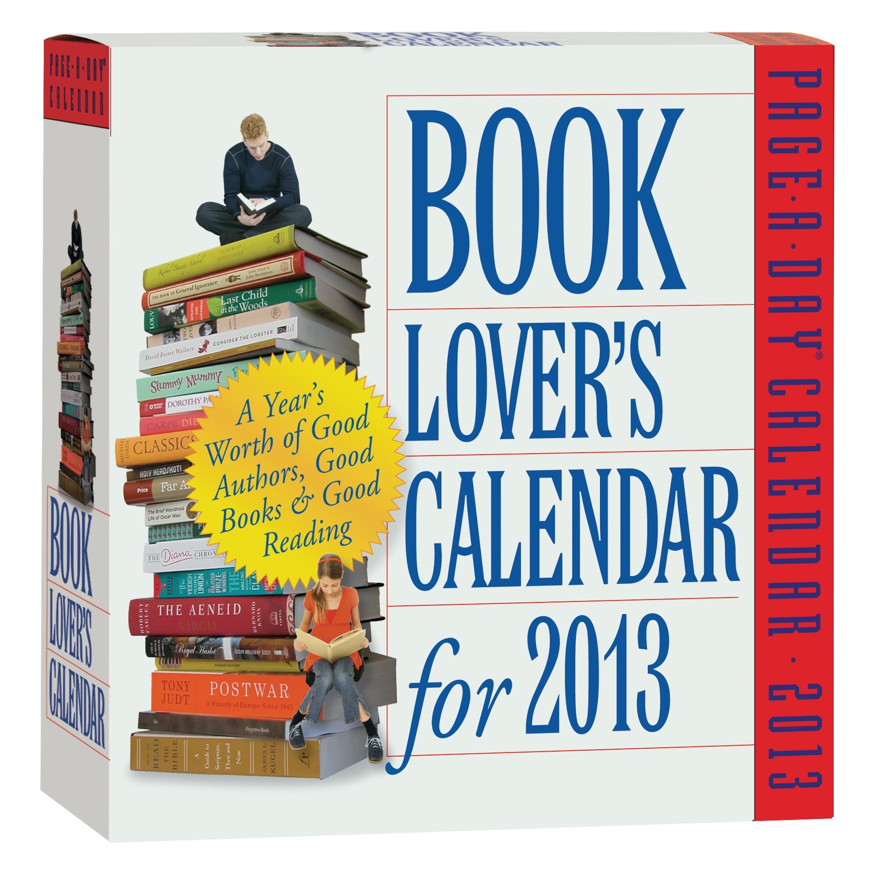 Read Online Book Lover's Calendar for 2013 pdf