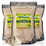 AZOMITE - 20 Pounds Bulk Bag of Certified Organic Trace Mineral Fertilizer by PowerGrow