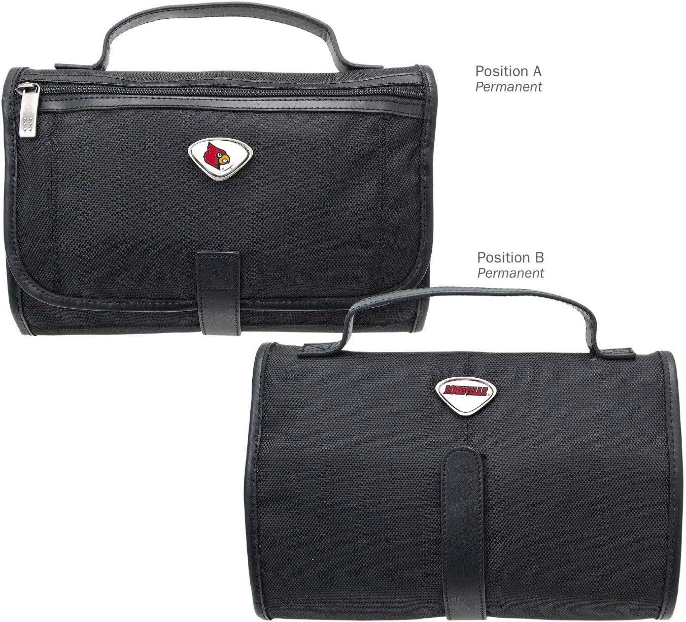 Black One Size AdSpec NCAA Louisville Cardinals Collegiate Toiletry BagCollegiate Toiletry Bag