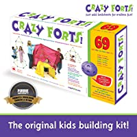 Crazy Forts,Purple, 69 pieces