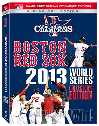 3225d5a6ad4 Amazon.com  Boston Red Sox 2013 World Series Collector s Edition ...