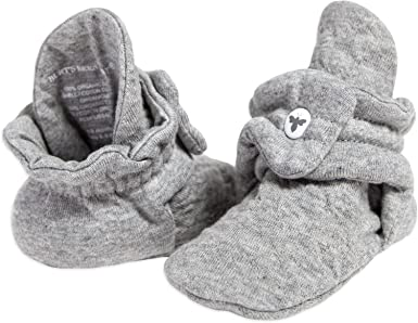 100/% Organic Cotton Boys Girls Quilted Booties Burts Bees Baby Unisex Baby Booties