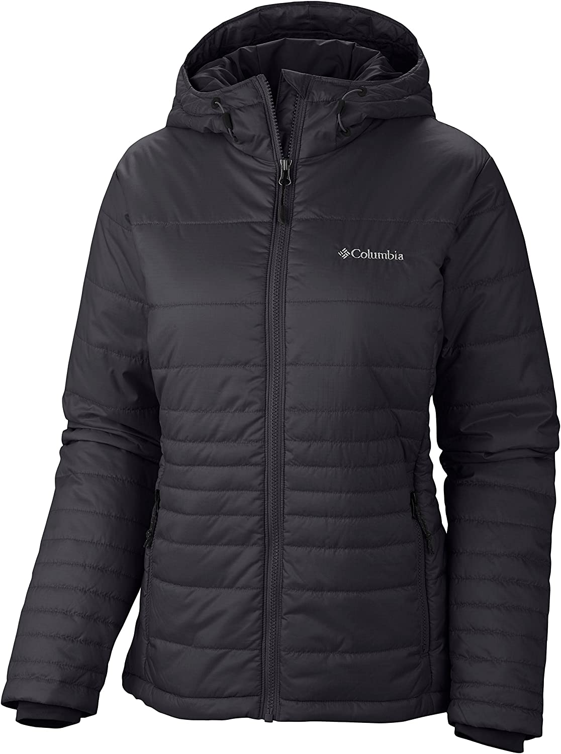 Columbia Damen Jacke Go To Hooded Jacket, Black, L, WL5435