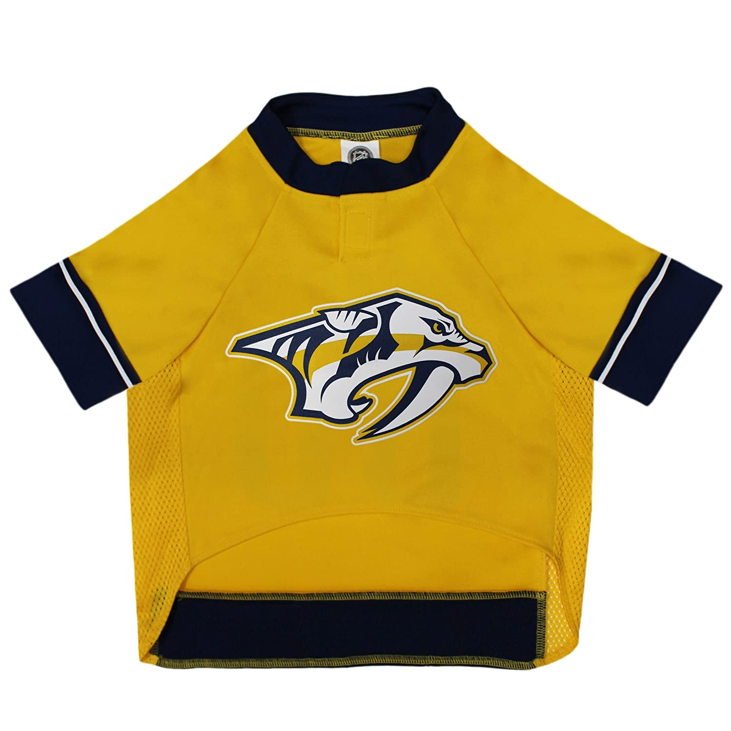 meet 9e5ca 66ff0 NHL Nashville Predators Jersey for Dogs & Cats, X-Small. - Let Your Pet be  a Real NHL Fan!