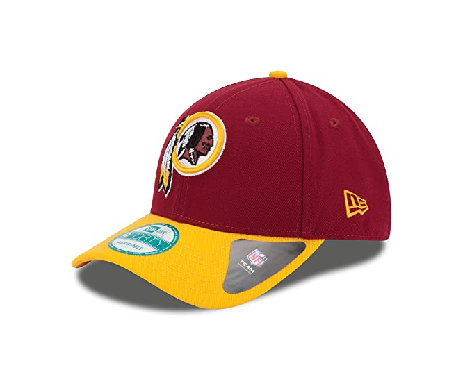 Amazon.com   NFL The League Washington Redskins 9Forty Adjustable Cap    Sports Fan Baseball Caps   Clothing e1c04534c