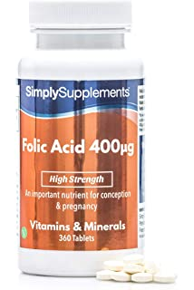 Solgar® Folacín (ácido fólico) 400 µg para embarazo y concepción ...