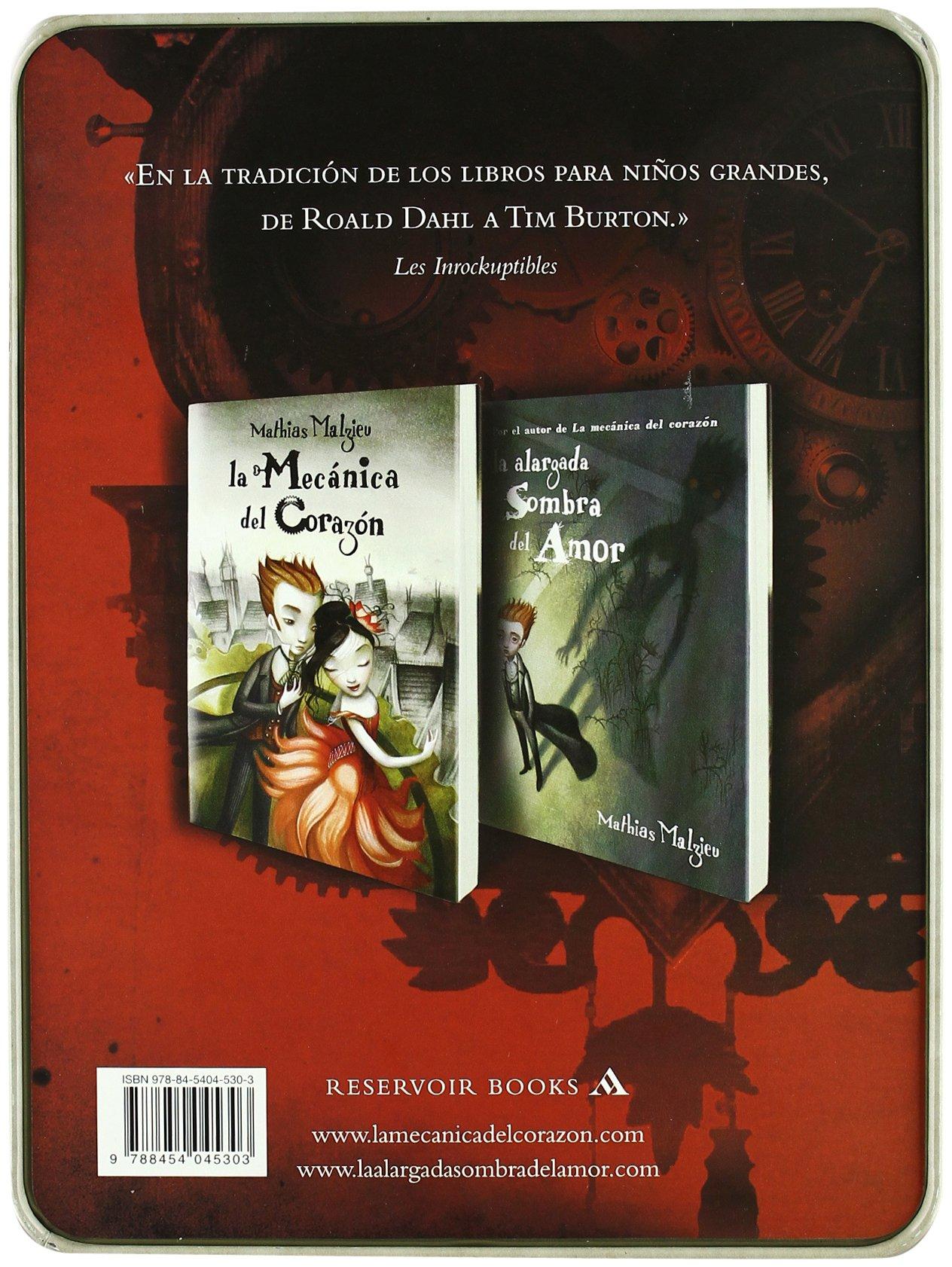La Caja Del Amor De Mathias Malzieu: La M�canica Del Coraz�n, La Alargada  Sombra Del Amor Reservoir Books: Amazon: Mathias Malzieu: Libros