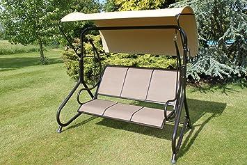 blenheim luxury heavy duty garden 3 seater swing seat hammock reduced blenheim luxury heavy duty garden 3 seater swing seat hammock      rh   amazon co uk