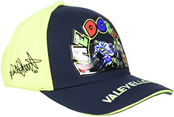 VR46 Hombre Valentino Rossi - Gorra Infantil The Doctor Tapa, Azul/Amarillo, One Size: Amazon.es: Deportes y aire libre
